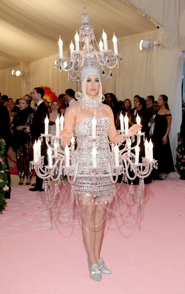 Katy Perry in Moschino, Met Gala 2019