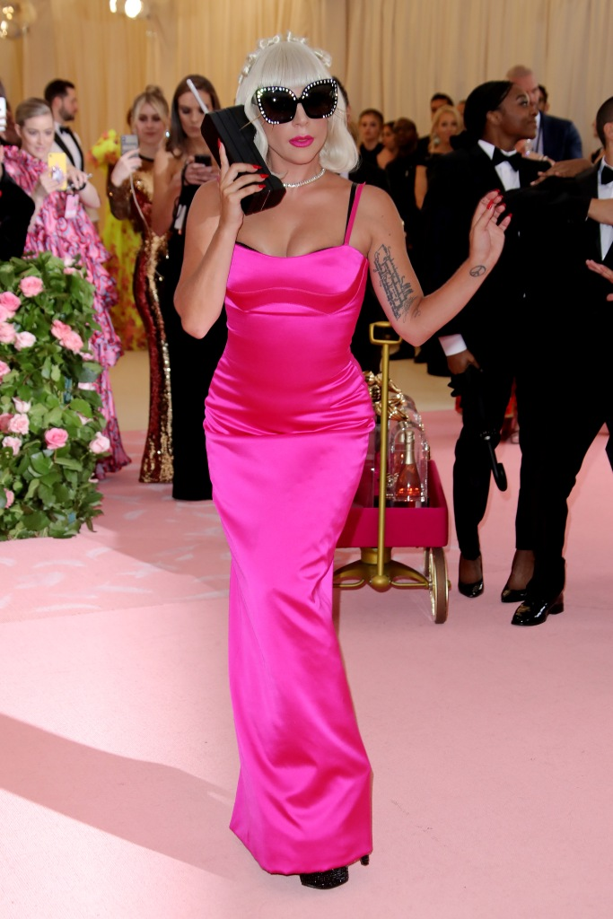 Lady Gaga in Brandon Maxwell, Met Gala 2019