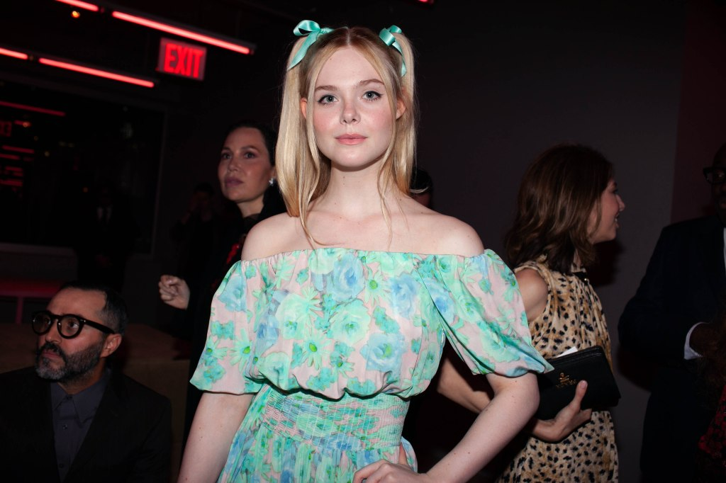Elle FanningPrada Resort 2020 show, Front Row, The Piano Factory, New York, USA - 02 May 2019