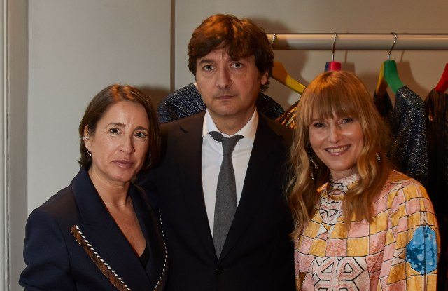 Natalie Kingham, Maia Guarnaccia and Amy Astley at 5 Carlos Place