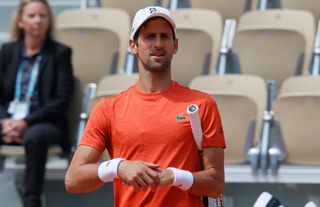 Novak DjokovicFrench Open Tennis Championships, Friday Practice , Roland Garros, Paris, France - 24 May 2019