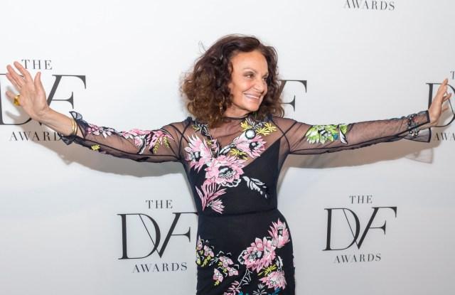 Diane von Furstenberg9th Annual DVF Awards, Arrivals, New York, USA - 13 Apr 2018