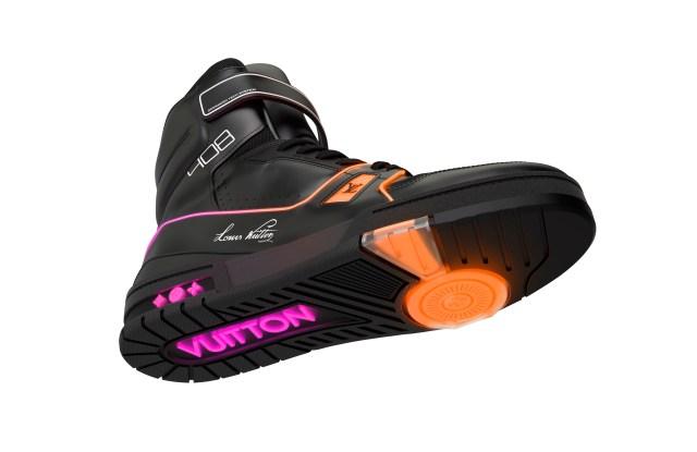 Virgil Abloh's light-up sneaker for Louis Vuitton.