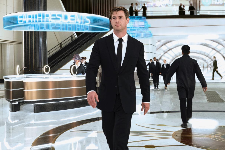Agent H (Chris Hemsworth) in London's MIB Headquarters in Columbia Pictures' MEN IN BLACK: INTERNATIONAL.