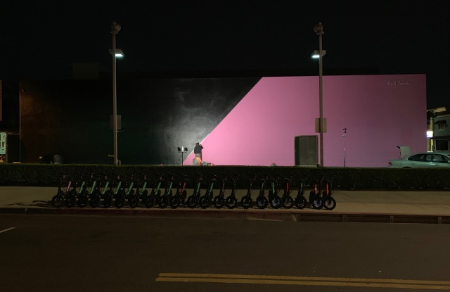 Paul Smith Melrose store fades to black