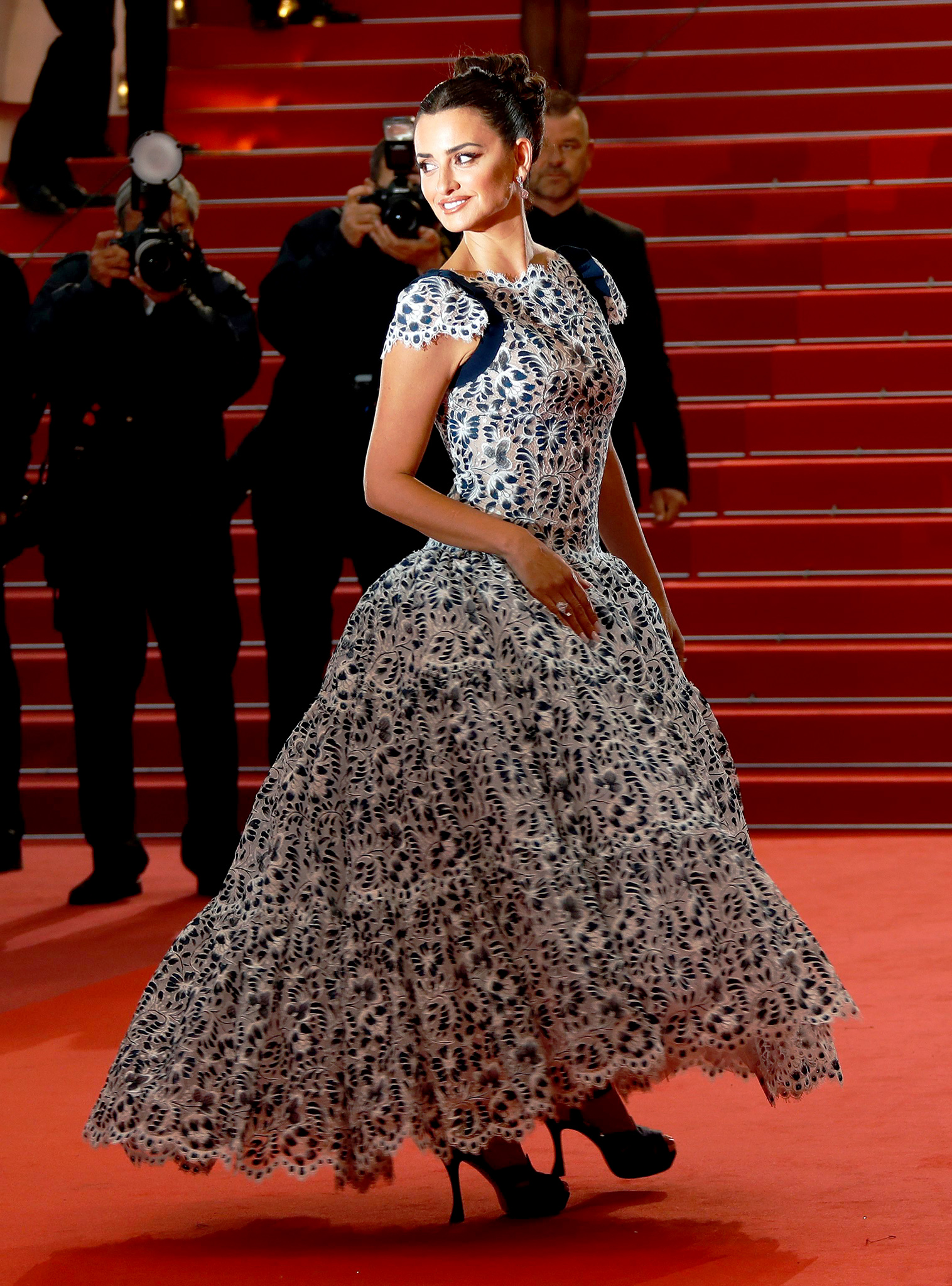 Penelope Cruz arrives for the screening of 'Dolor y Gloria' (Pain and Glory) during the 72nd annual Cannes Film Festival, in Cannes, France, 17 May 2019. The movie is presented in the Official Competition of the festival which runs from 14 to 25 May.'Pain and Glory' premiere, 72nd Cannes Film Festival, France - 17 May 2019