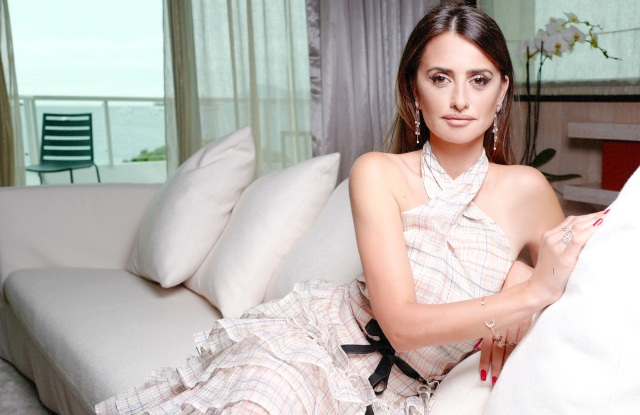 Penélope Cruz in Chanel with pieces from the Atelier Swarovski MoonSun collection.