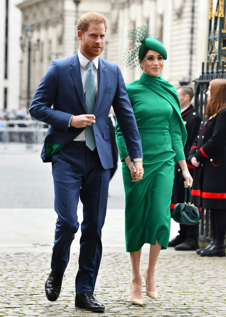 May 19th 2020 - Prince Harry The Duke of Sussex and Duchess Meghan of Sussex celebrate their second wedding anniversary. They were married at St. George's Chapel on the grounds of Windsor Castle on May 19th 2018. - File Photo by: zz/KGC-03/STAR MAX/IPx 2020 3/9/20 Prince Harry The Duke of Sussex and Meghan The Duchess of Sussex attend the Commonwealth Day Service at Westminster Abbey. (London, England, UK)