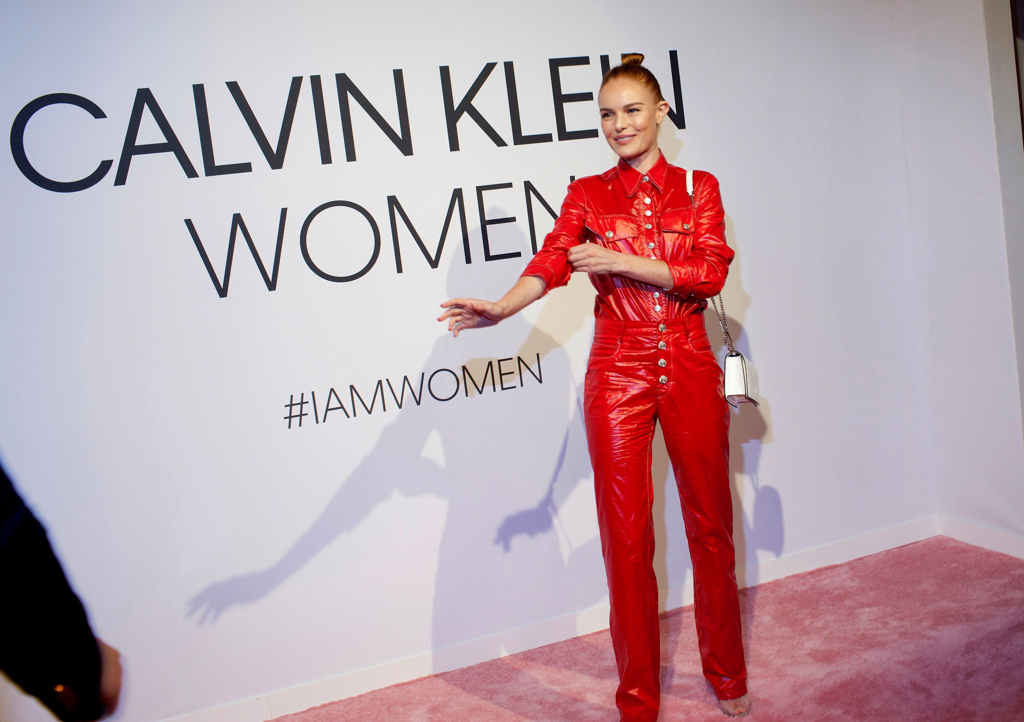 Kate Bosworth'Calvin Klein Women' Fragrance Launch, New York Fashion Week, USA - 11 Sep 2018 WEARING CALVIN KLEIN