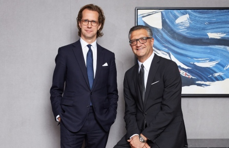 Stefan Larsson and Manny Chirico of PVH Corp.