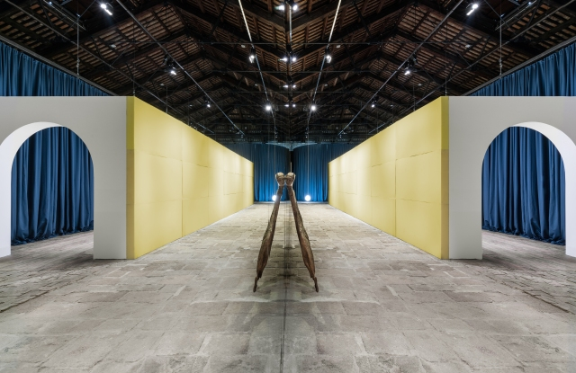 """The """"Neither Nor: The challenge to the Labyrinth"""" exhibition mounted at the Italian Pavilion of the 2019 Venice Biennale."""