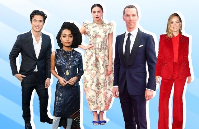 Charles Melton, Yara Shahidi, Bel Powley, Benedict Cumberbatch and Olivia Wilde