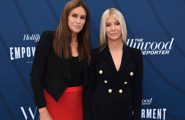 Sophia Hutchins, Caitlyn Jenner. Caitlyn Jenner and Sophia Hutchins arrive at THR's Empowerment in Entertainment Gala at Milk Studios, in Los Angeles2019 THR's Empowerment in Entertainment Gala, Los Angeles, USA - 30 Apr 2019
