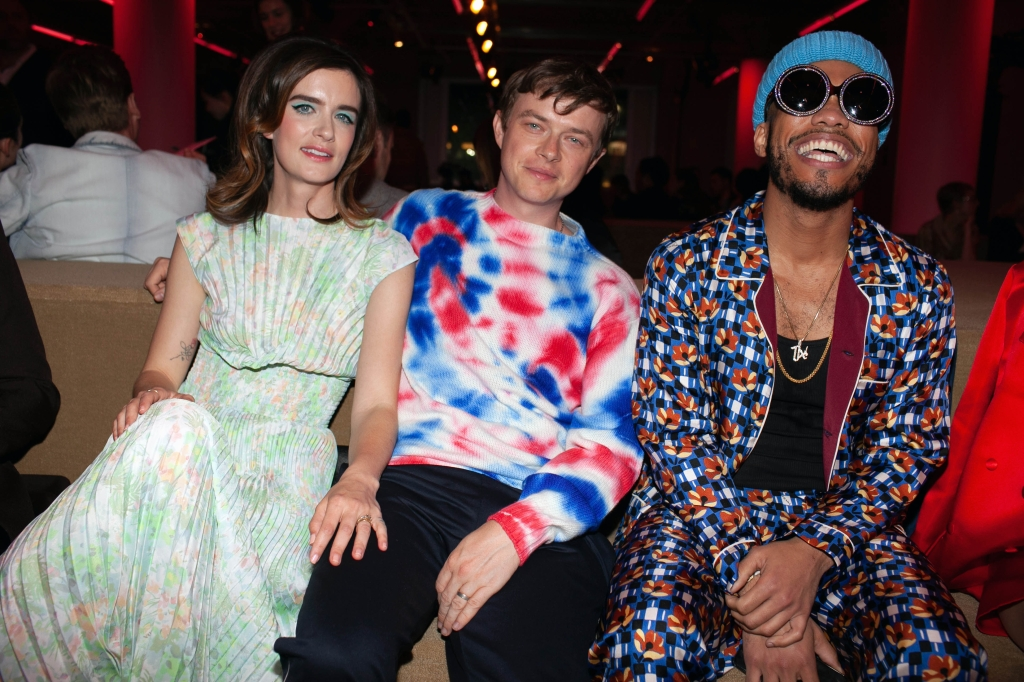 Anna Wood, Dane Dehaan, Anderson PaakPrada Resort 2020 show, Front Row, The Piano Factory, New York, USA - 02 May 2019