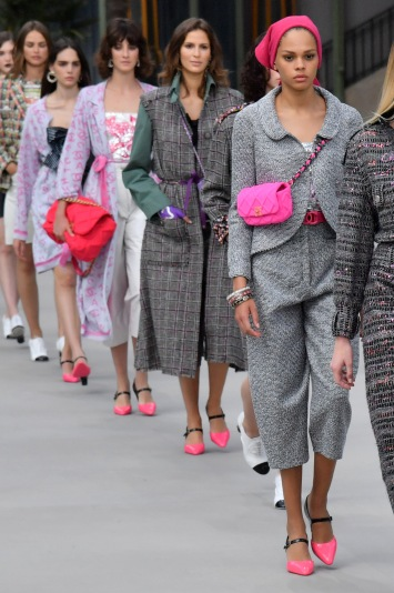 Models on the catwalkChanel Cruise 2020 show, Runway, Paris, France - 03 May 2019