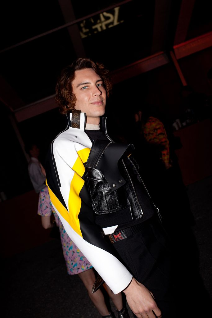 Cody Fern at the Louis Vuitton Cruise 2020 Show Afterparty
