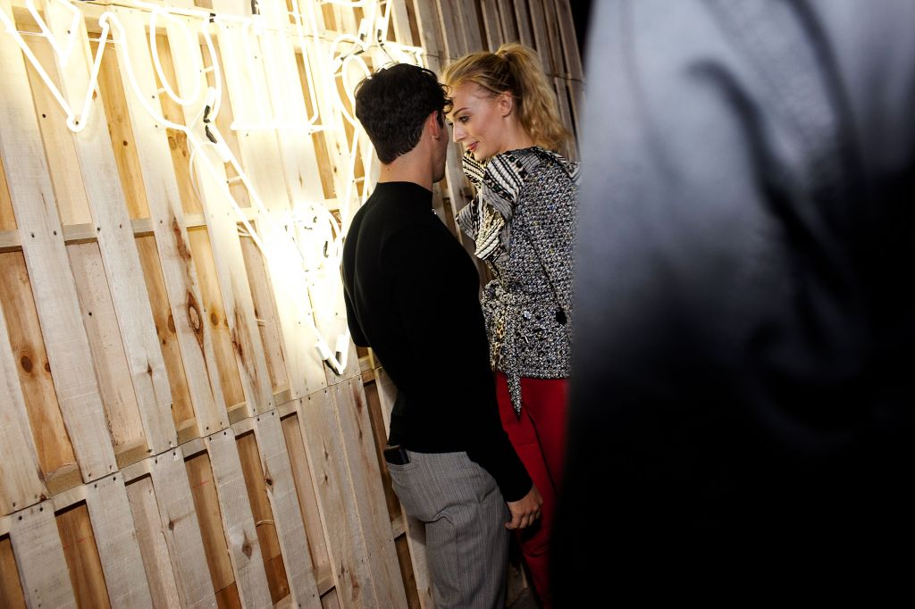 Joe Jonas and Sophie Turner at the Louis Vuitton Cruise 2020 Show Afterparty