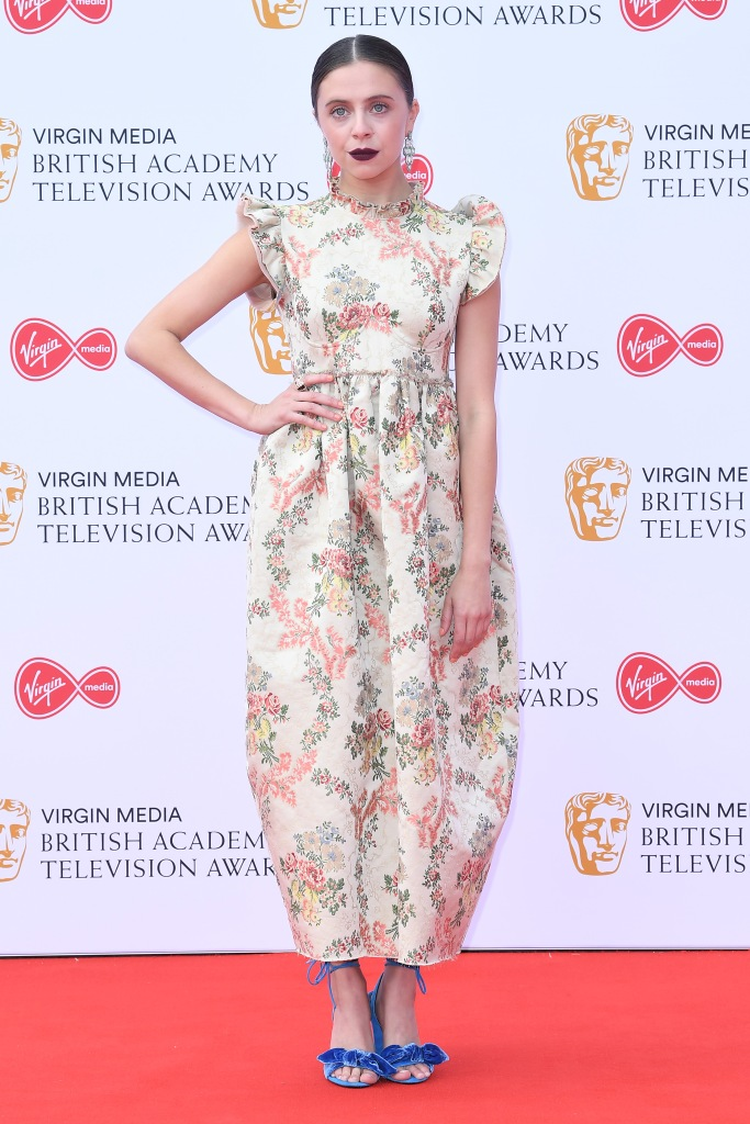 Bel PowleyBritish Academy Television Awards, Arrivals, Royal Festival Hall, London, UK - 12 May 2019Wearing Brock Collection