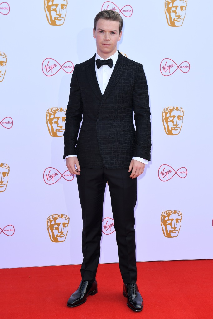 Will PoulterBritish Academy Television Awards, VIP Arrivals, Royal Festival Hall, London, UK - 12 May 2019
