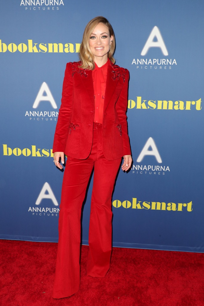 Olivia Wilde'Booksmart' film premiere, Arrivals, Ace Hotel, Los Angeles, USA - 13 May 2019 Wearing Dundas