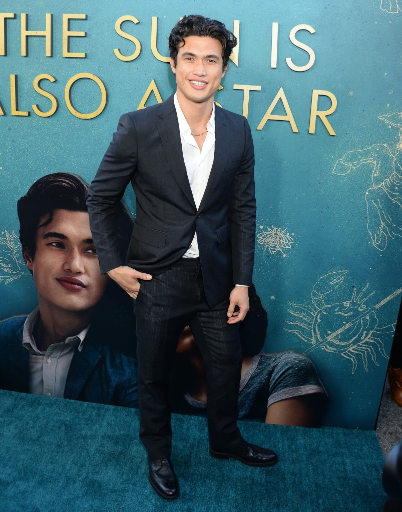 Charles Melton'The Sun Is Also A Star' film premiere, Los Angeles, USA - 13 May 2019