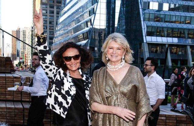 Diane von Furstenberg and Martha StewartHigh Line 20th Anniversary Benefit, Arrivals, New York, USA - 21 May 2019