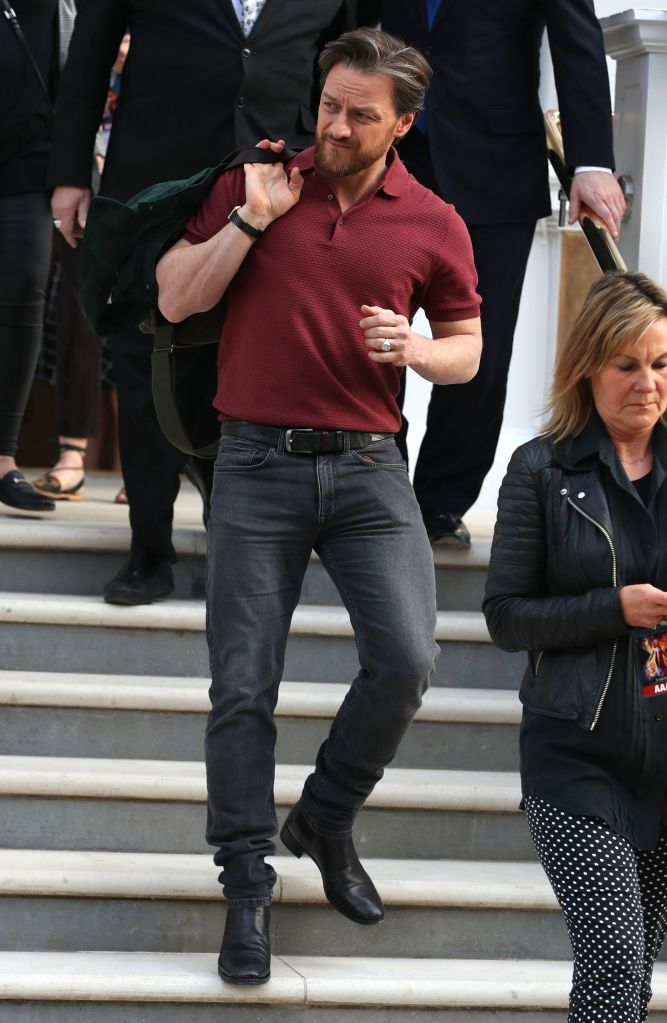 James McAvoyJames McAvoy out and about, London, UK - 22 May 2019