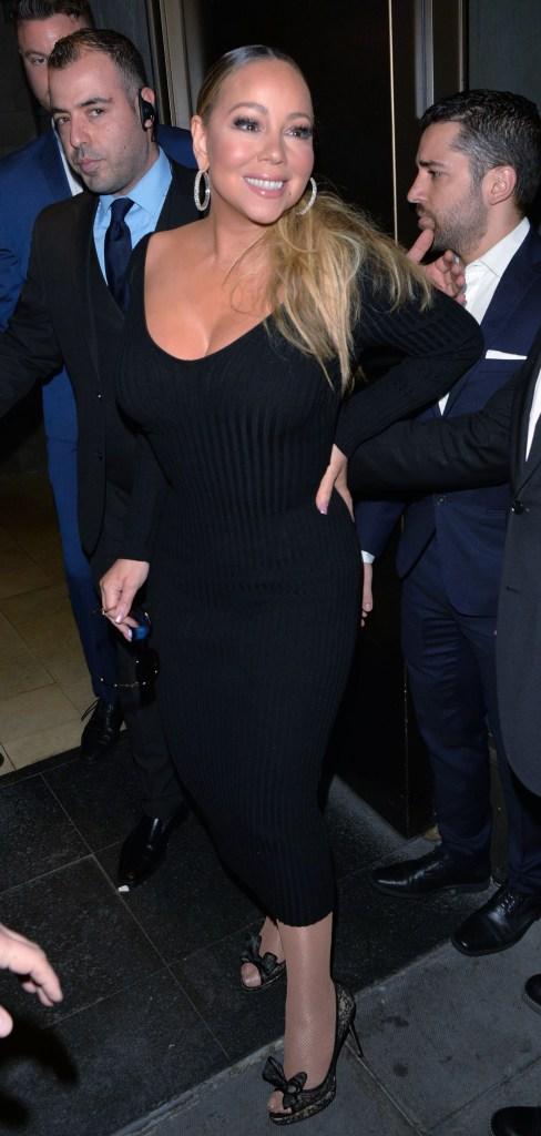 Mariah CareyMaria Carey out and about, London, UK - 27 May 2019