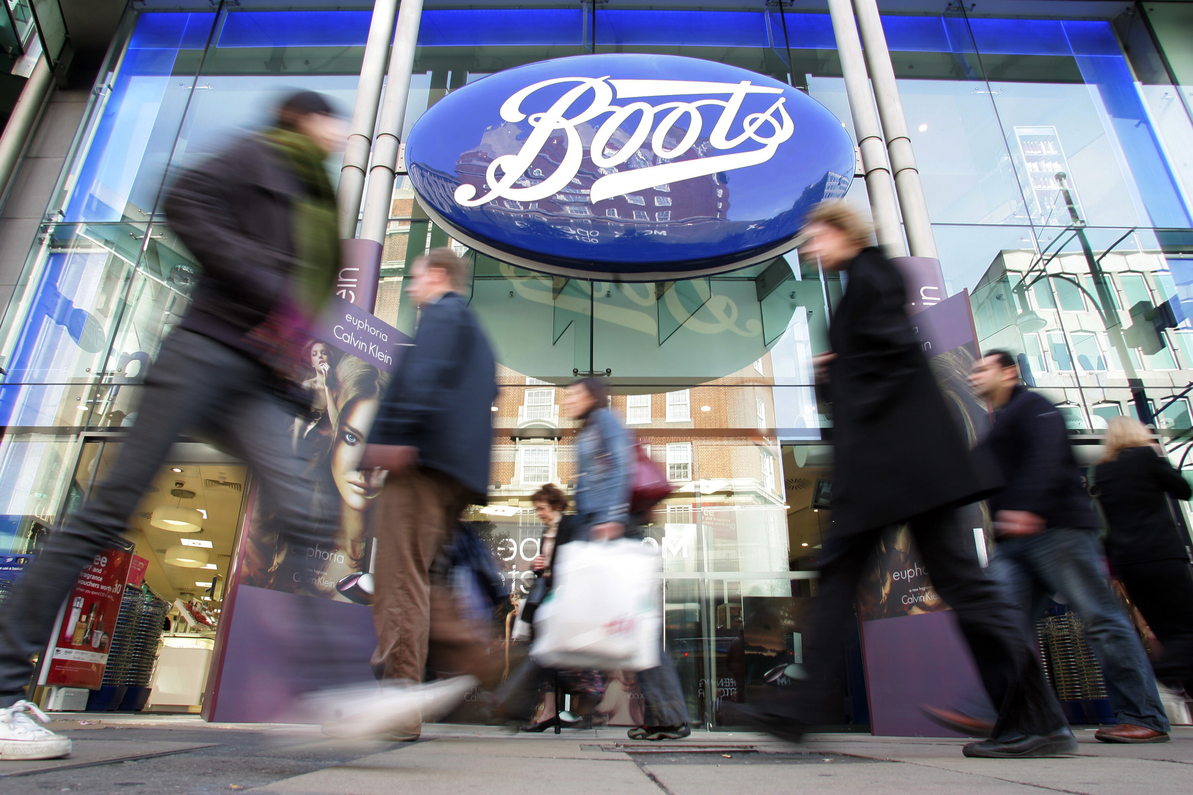 Boots storefront