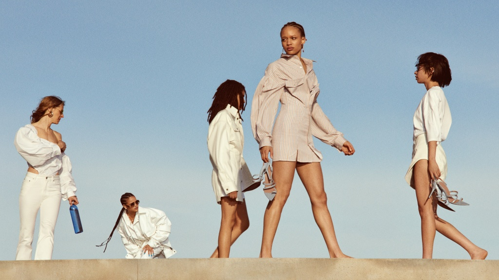 An image from the Fenty campaign by Glen Luchford.