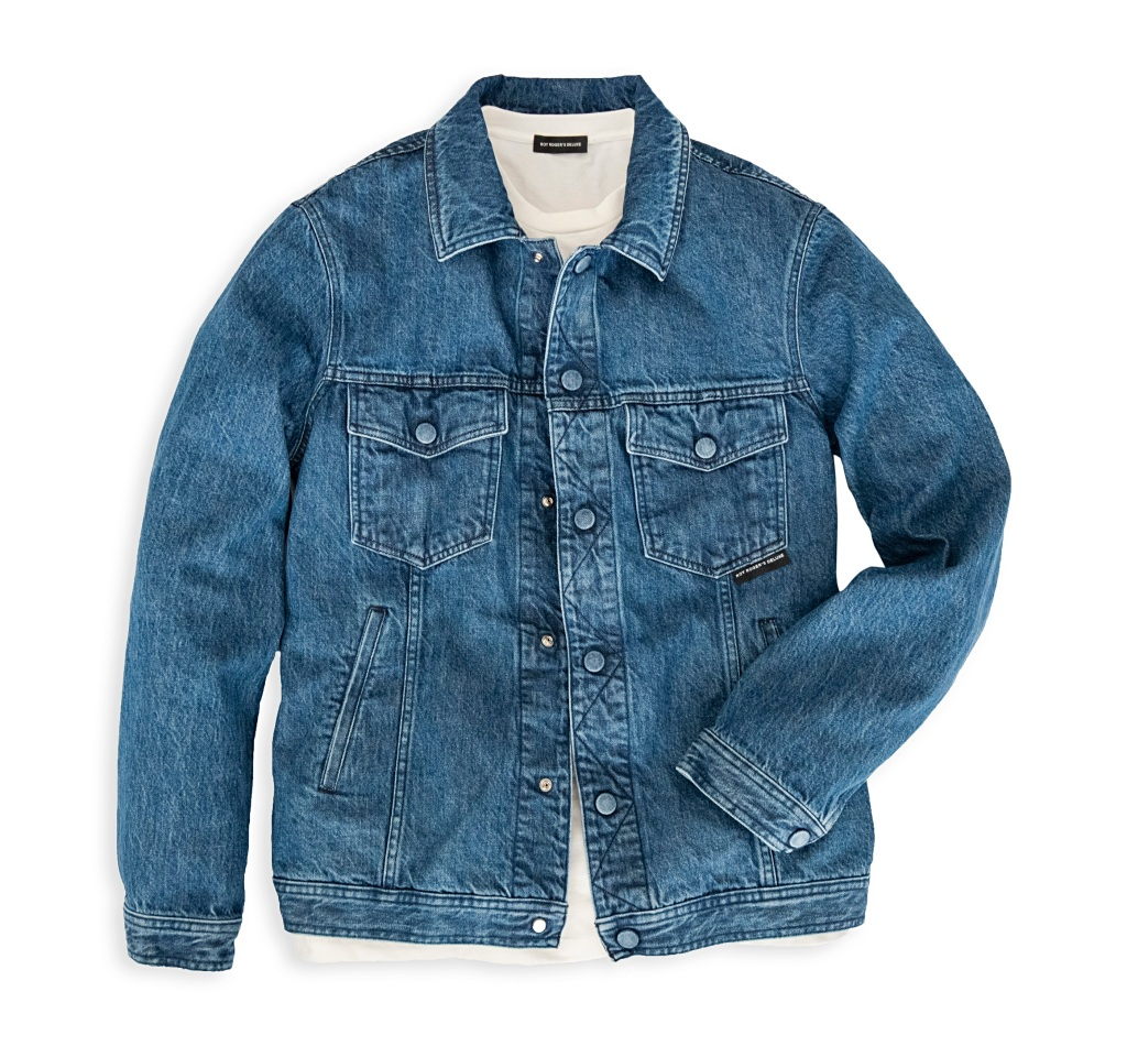 A denim jacket from Roy Roger's spring 2020 men's collection.