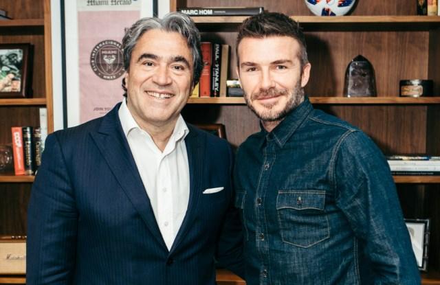 Angelo Trocchia and David Beckham