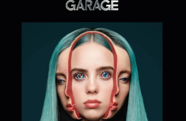 Billie Eilish on the cover of Garage magazine's newest issue.