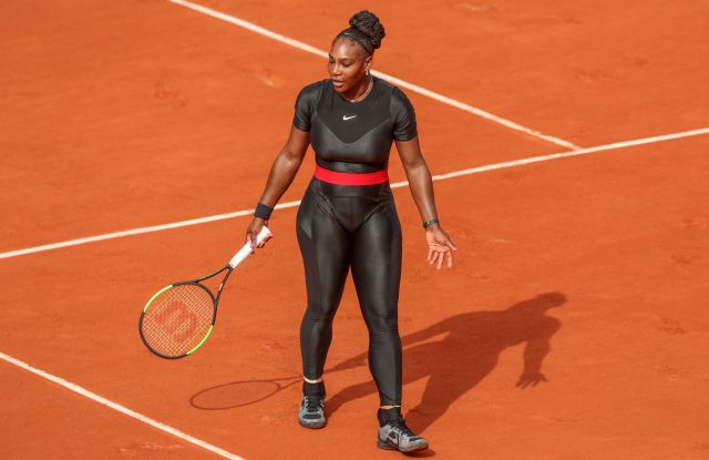 Serena Williams French Open Nike Catsuit