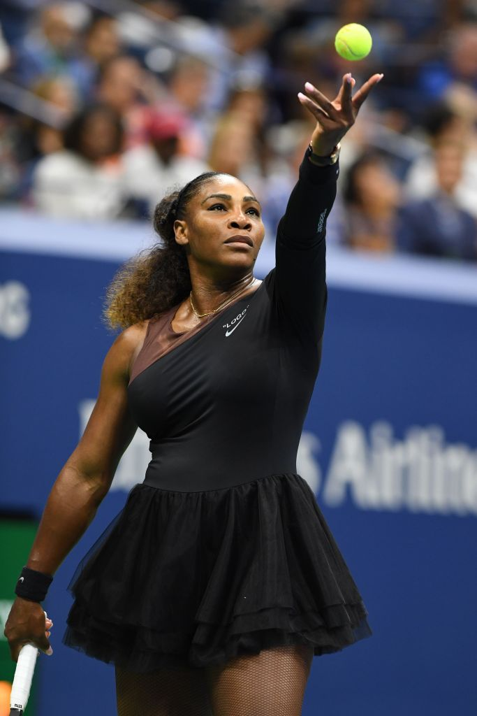 Serena Williams in Nike at US Open 2018