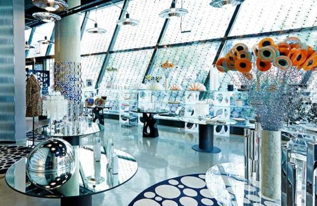 Inside of 10 Corso Como Shanghai store