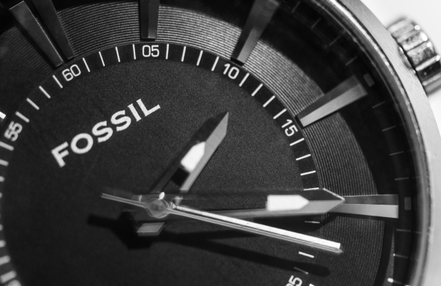 A watch by Fossil.