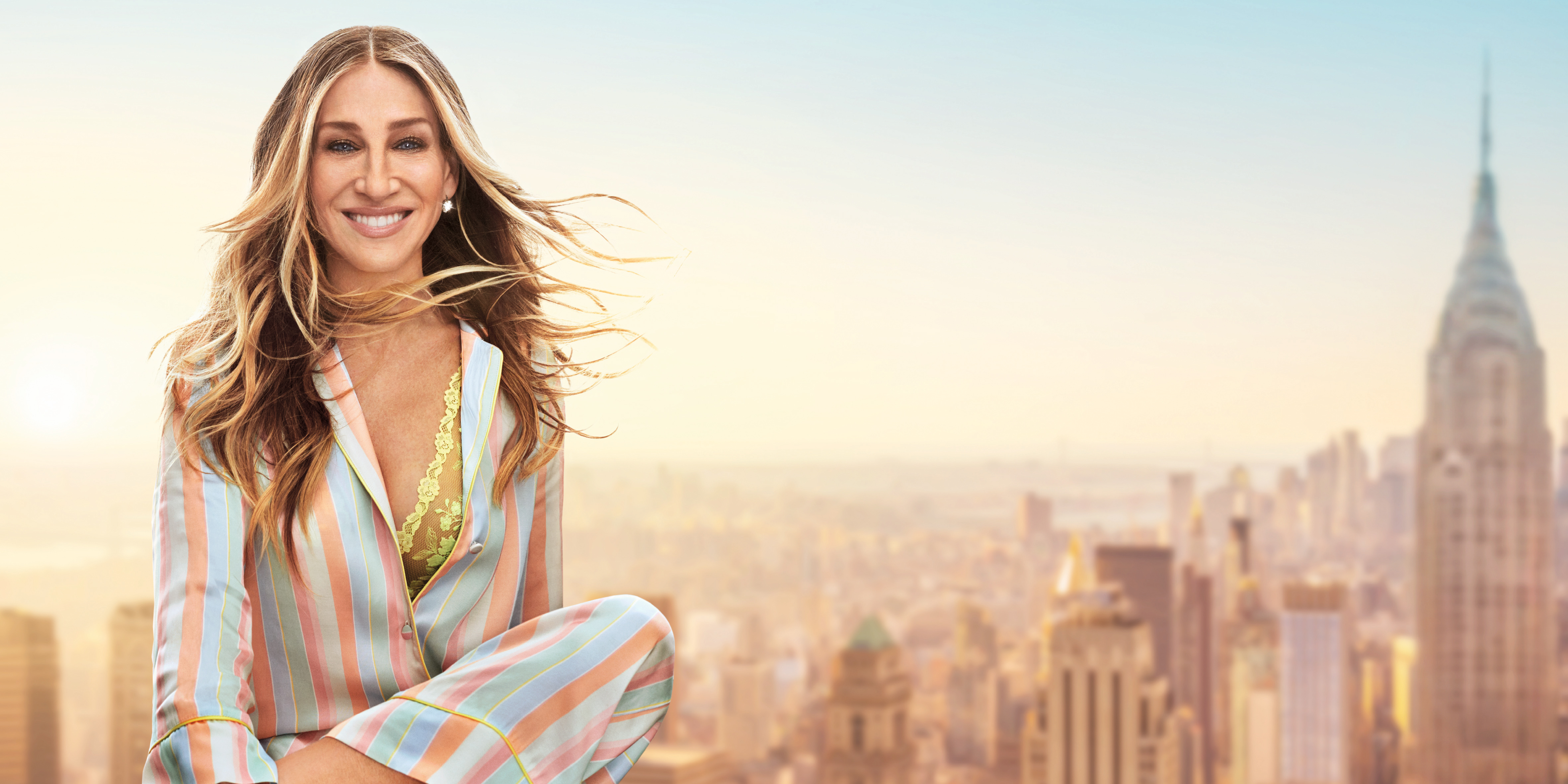 Sarah Jessica Parker fronting the Intimissimi's 2019 ad campaign.