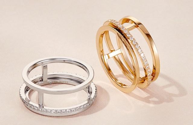De Beers Jewelers' new diamond Horizon ring, designed with self-purchasing women in mind.