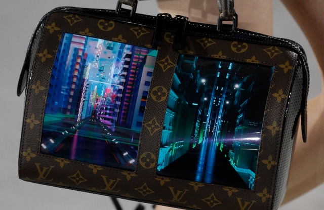 Louis Vuitton Speedy bag with screens