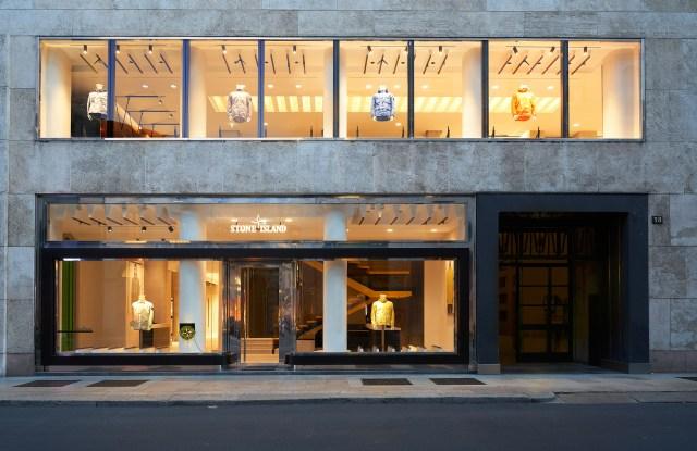 Stone Island new store on Milan's Corso Matteotti