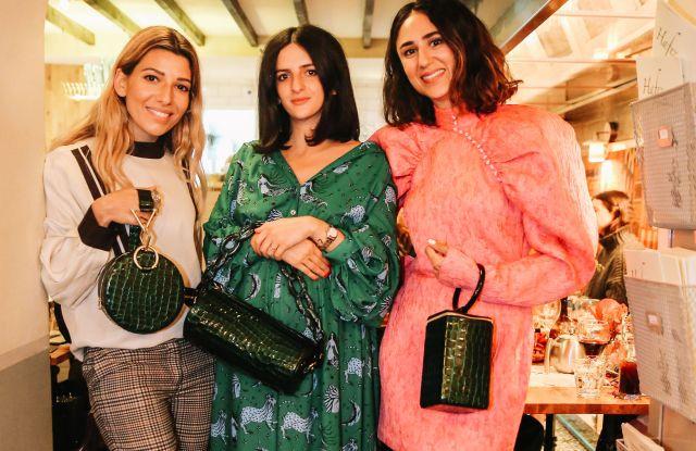 Leila Kashanipour, Tara Ghazanafar and Soraya Bakhtiar