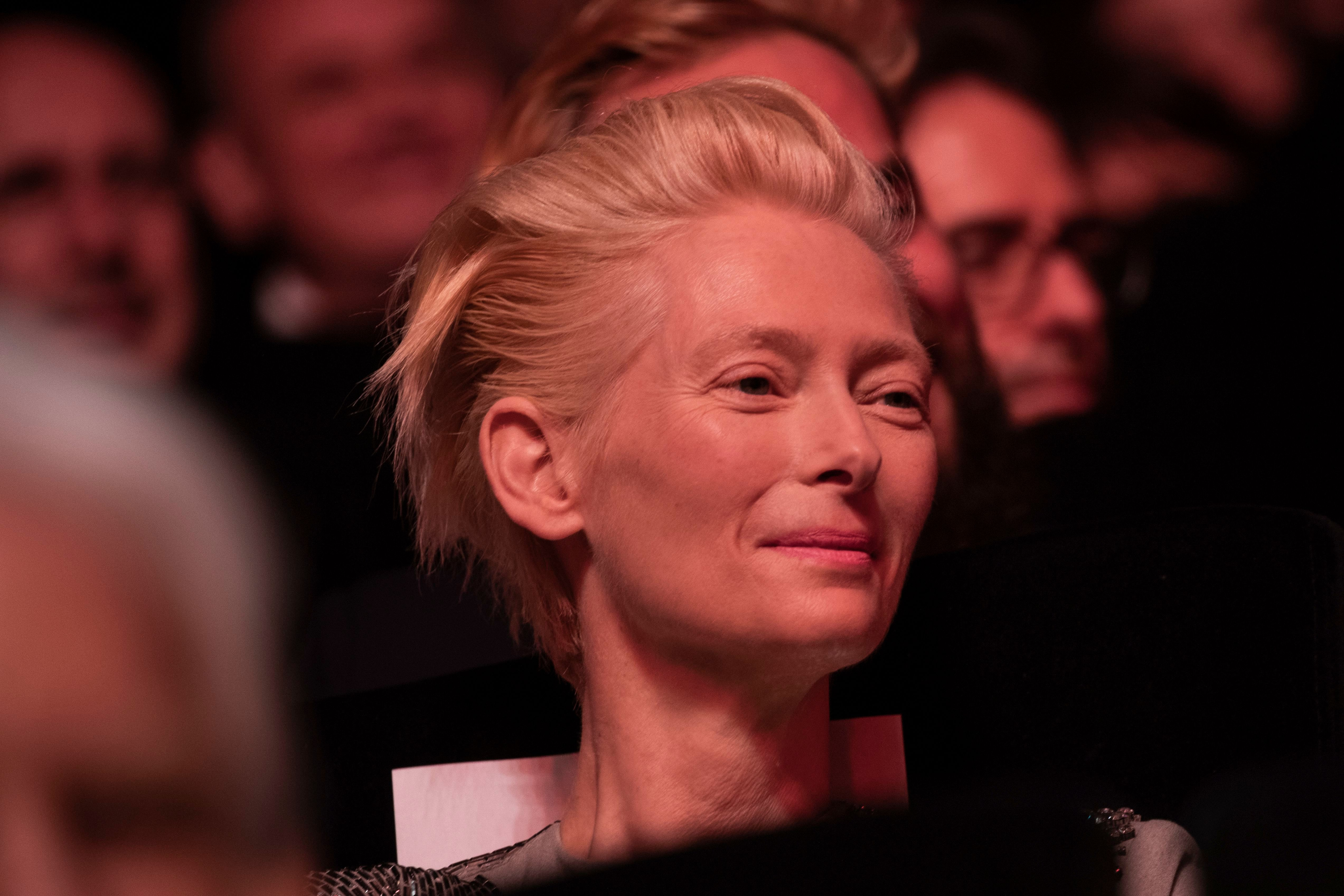 Tilda Swinton during the opening ceremony and the premiere of the film 'The Dead Don't Die' at the 72nd international film festival, Cannes, southern France2019 The Dead Don't Die Red Carpet, Cannes, France - 14 May 2019