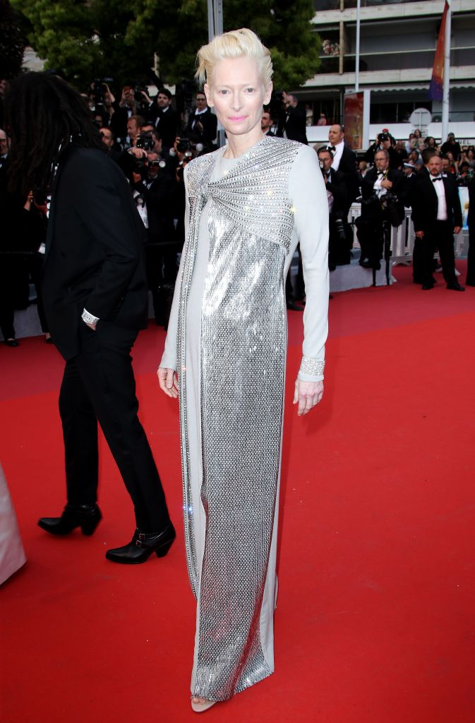 Tilda Swinton'The Dead Don't Die' premiere and opening ceremony, 72nd Cannes Film Festival, France - 14 May 2019Wearing Haider Ackermann, Custom