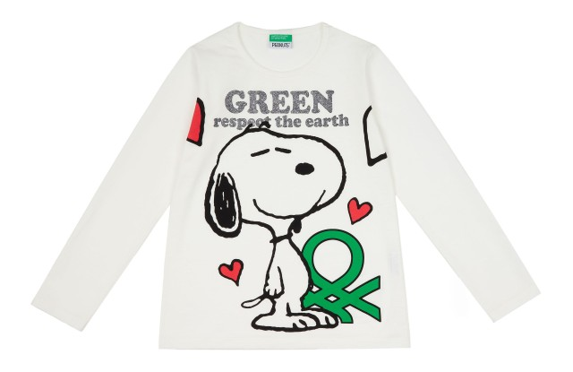United Colors of Benetton's green T-shirt