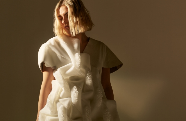 Erin Robertson's and designer-scientist Jifei Ou's 3D-printed faux fur.