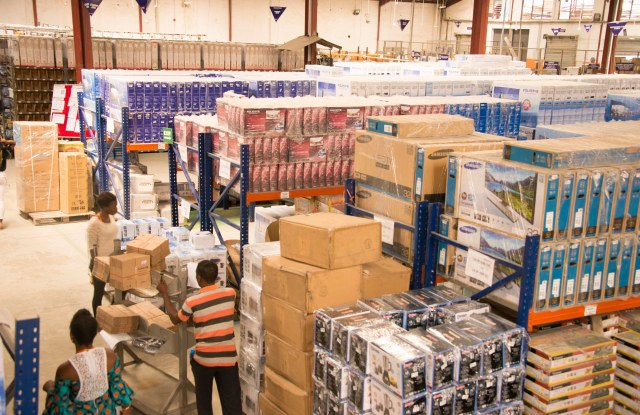 A Jumia Technologies distribution center in Africa.