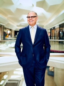 William Taubman at Short Hills Mall in Short Hills, NJ on June 22, 2018 for Modern Luxury. Photo by Rick Wenner.