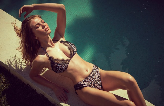 British intimates brand Wolf & Whistle also has a full swimwear collection.