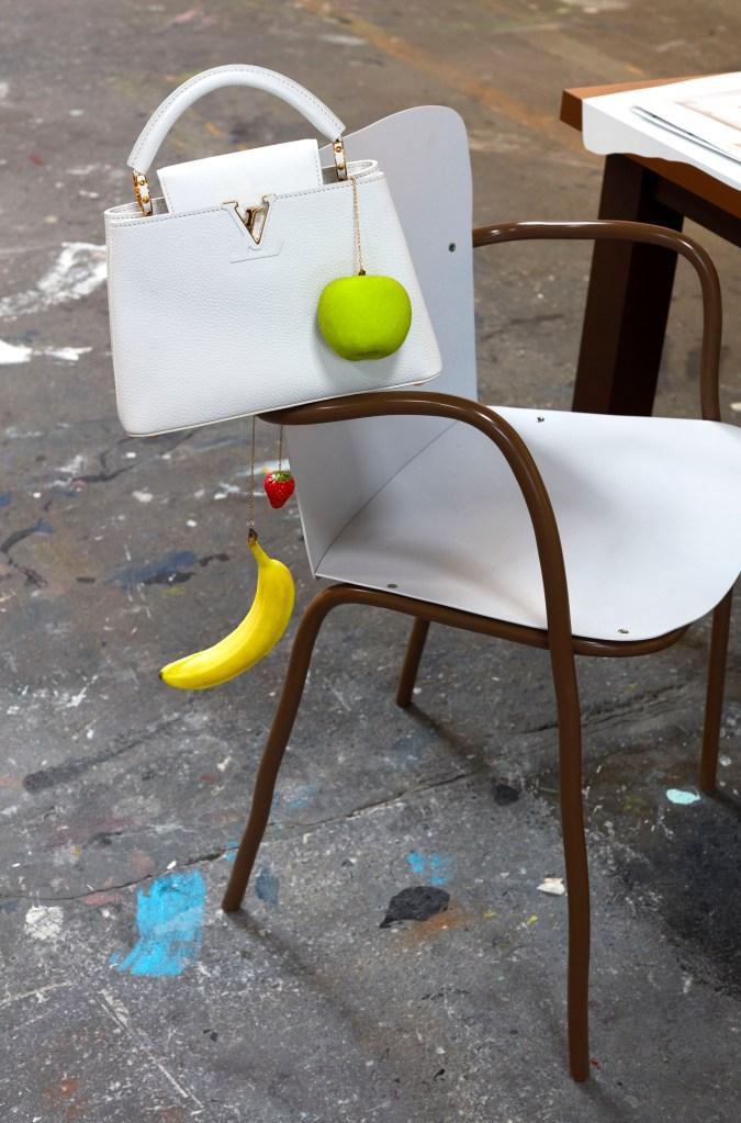 Urs Fischer's design for the Artycapucines project.